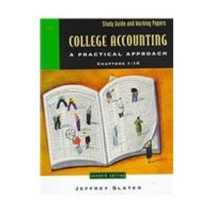 9780130961532: College Accounting: A Practical Approach, Chapters 1-10