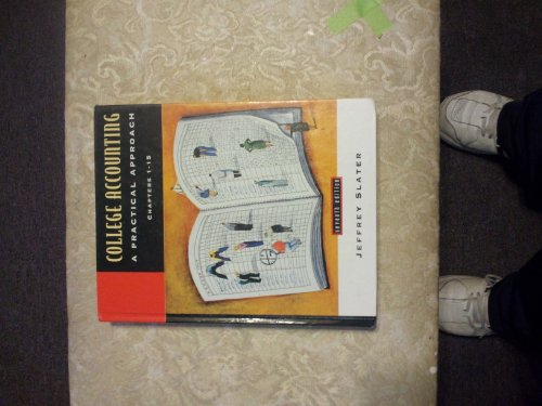 9780130961549: College Accounting: A Practical Approach : Chapters 1-15