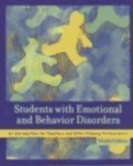 9780130962676: Students with Emotional and Behavior Disorders: An Introduction for Teachers and Other Helping Professionals