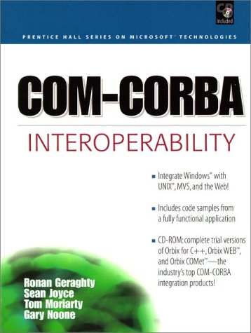 9780130962775: COM-COBRA Interoperability (Prentice Hall Series on Microsoft Technologies)