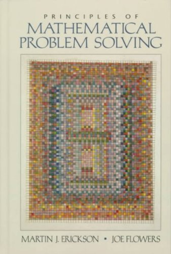 9780130964458: Principles of Mathematical Problem Solving