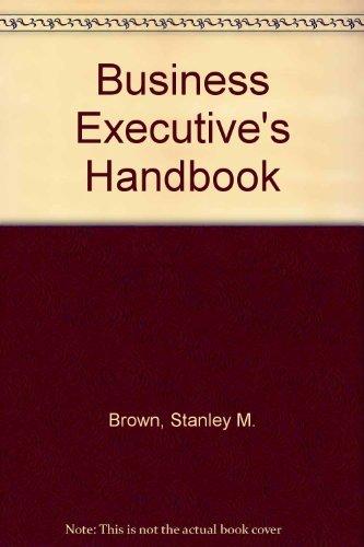 9780130965110: Business Executive's Handbook