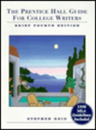 9780130966384: The Prentice Hall Guide for College Writers: 1998 Mla Update Edition