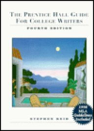 9780130966391: The Prentice Hall Guide for College Writers