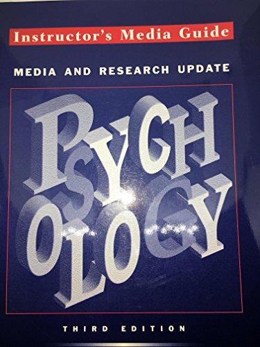 Psychology: Instructor's Media Guide, Media & Research: Stephen Davis, Joseph