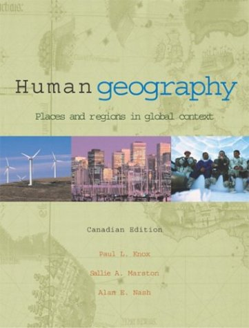 9780130968869: Human Geography: Places and Regions in Global Context, Canadian Edition