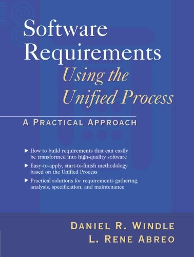 9780130969729: Software Requirements Using the Unified Process: A Practical Approach