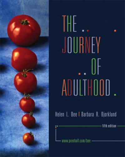 9780130970411: The Journey of Adulthood