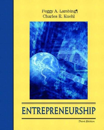 9780130971166: Entrepreneurship (With CD-ROM)