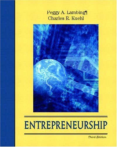 9780130971166: Entrepreneurship (With CD-ROM)