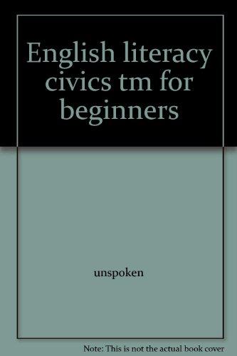 9780130973221: English literacy civics tm for beginners