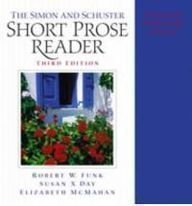 9780130974211: The Simon & Schuster Short Prose Reader