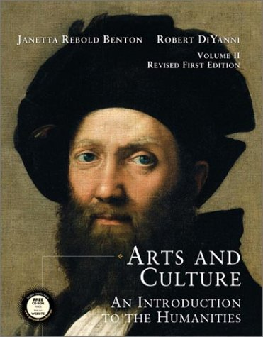 9780130975003: Arts and Culture: An Introduction to the Humanities, Volume II, Revised (with CD-ROM) with CDROM