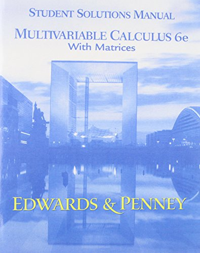 9780130975041: Calculus Early Transcendentals Matrix Versn