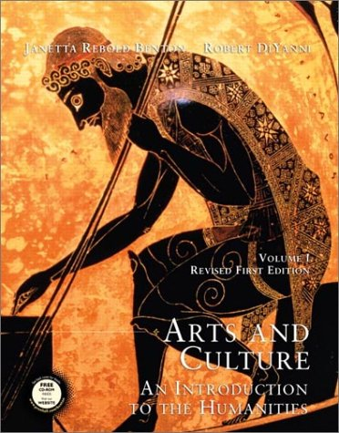 9780130975089: Arts and Culture: An Introduction to the Humanities (Volume I, Revised)