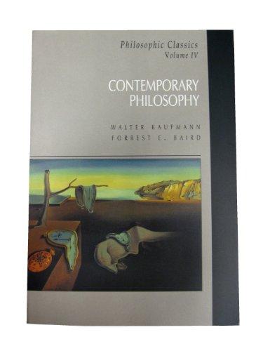 9780130976017: Philosophic Classics (Philosophic Classics Vol. 4)