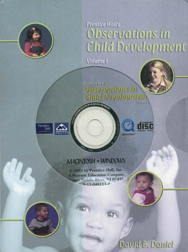 9780130976208: Prentice Hall's Observations in Child Development: Volume 1 (v. 1)