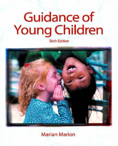 9780130976215: Guidance of Young Children