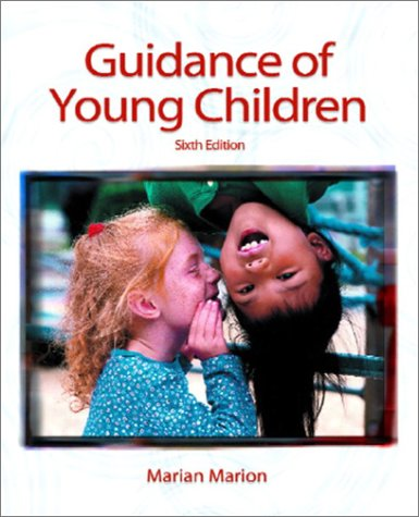 9780130976215: Guidance of Young Children (6th Edition)
