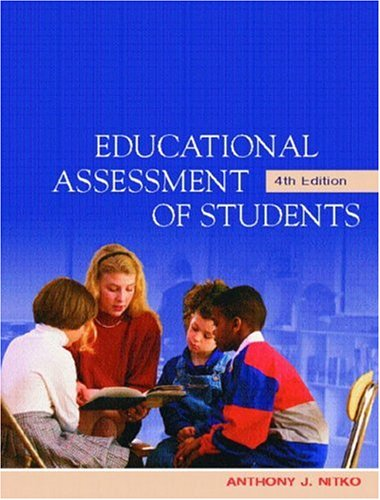 9780130977816: The Educational Assessment of Students