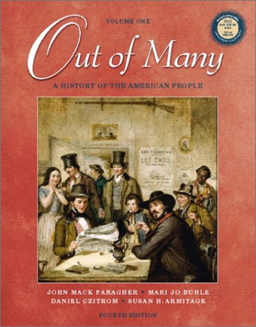 9780130977984: Out of Many: A History of the American People, Volume I (4th Edition)