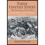 9780130978059: These United States: The Questions of Our Past, Combined Concise Edition (2nd Edition)