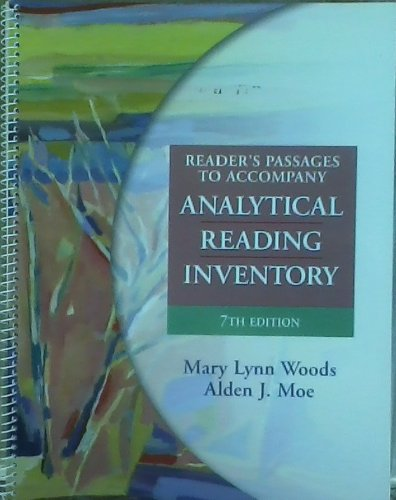9780130978066: Analytical Reading Inventory: Comprehensive Assessment for All Students Including Gifted and Remedial