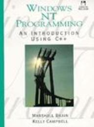 9780130978332: Windows NT Programming