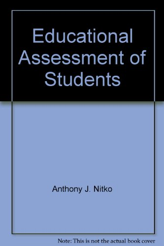 9780130978615: Educational Assessment of Students