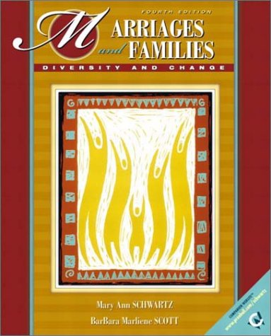 9780130979568: Marriages and Families: Diversity and Change (4th Edition)