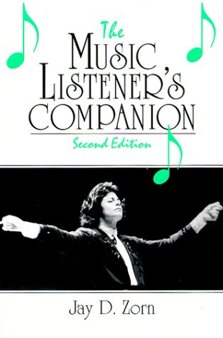 9780130979575: The Music Listener's Companion