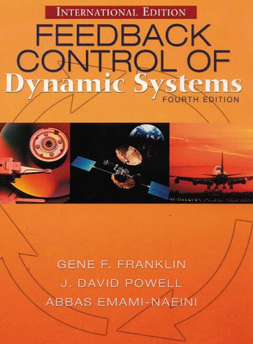 9780130980410: Feedback Control of Dynamic Systems (International Edition)