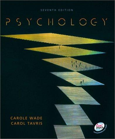 9780130982636: Psychology (7th Edition)