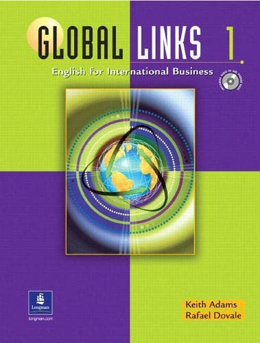 9780130985125: Global Links 1: English for International Business (Student Book with Audio CD and Phrase Book)