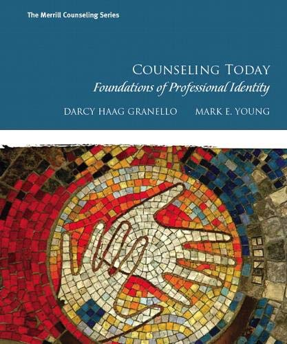 9780130985361: Counseling Today: Foundations of Professional Identity (The Merrill Counseling Series)