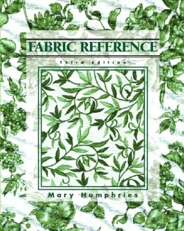 9780130985484: Fabric Reference, 3rd Edition