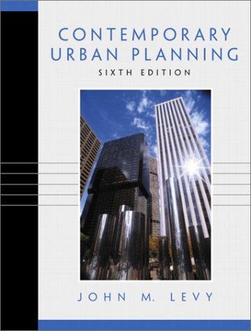 9780130985989: Contemporary Urban Planning (6th Edition)