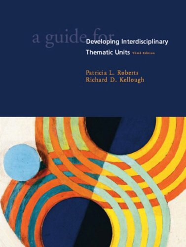 9780130986054: Guide for Developing Interdisciplinary Thematic Units, A (3rd Edition)