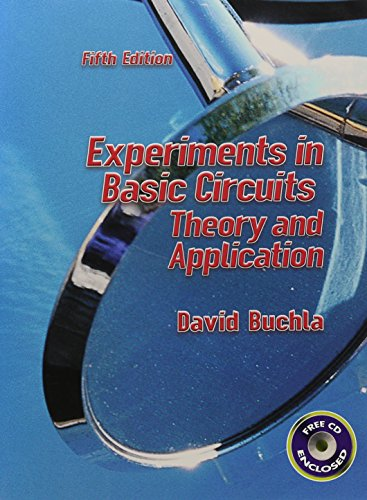 9780130986696: Experiments in Basic Circuits