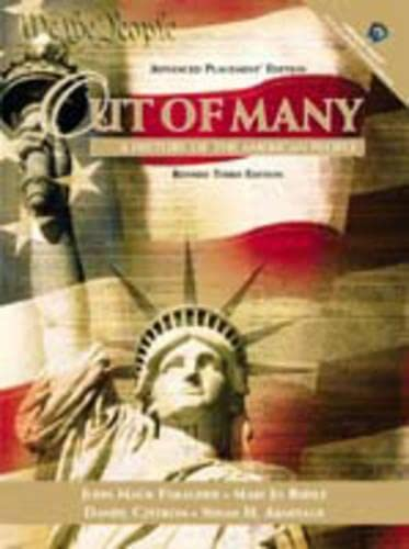 9780130986924: Out of Many: A History of the American People