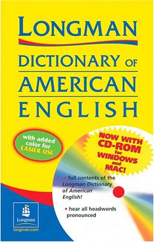 9780130988959: Longman Dictionary of American English, Second Edition (Paper with CD-ROM, Two-Color Version)
