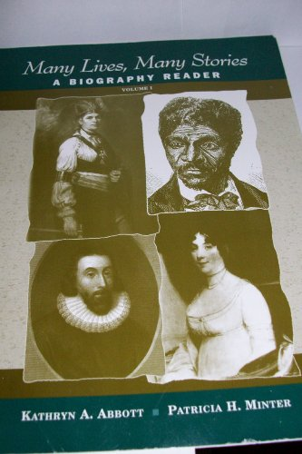 9780130989314: Many Lives, Many Stories: A Biography Reader - Volume 1 (v. 1)