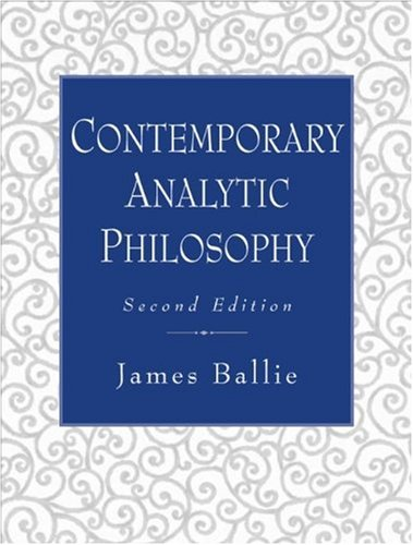 Contemporary Analytic Philosophy: Core Readings (2nd Edition): Baillie, James
