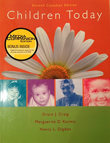 9780130990853: Children Today: With Media Companion CD-ROM