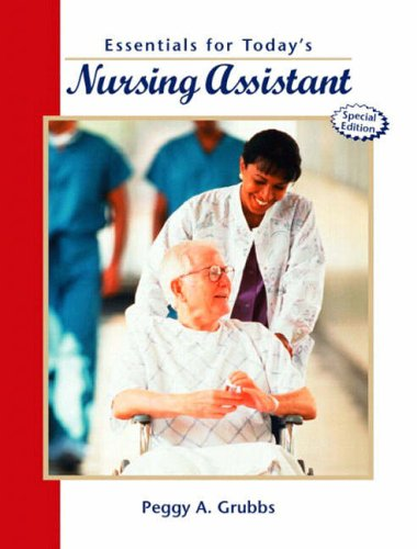 9780130990877: Essentials for Today's Nursing Assistant