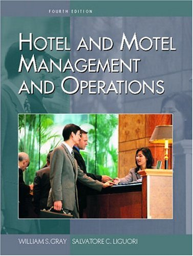 9780130990891: Hotel and Motel Management and Operations (4th Edition)