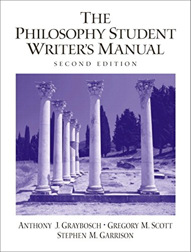 9780130991669: The Philosophy Student Writer's Manual (2nd Edition)
