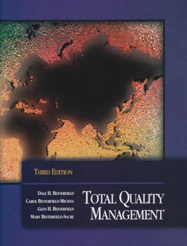 9780130993069: Total Quality Management