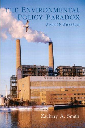 9780130993083: Environmental Policy Paradox, The (4th Edition)