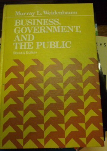 9780130993250: Business, government, and the public